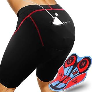 comprar comparacion GRAT.UNIC Pantalones Cortos de Bicicleta,Shorts de Ciclismo,9D Padded Shorts,Gel de Silicona,Biker Shorts, Medio Pantalone...