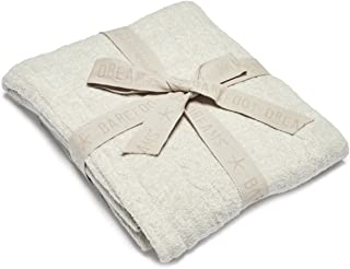 Barefoot Dreams CozyChic Lite Heathered Cable Blanket, 45