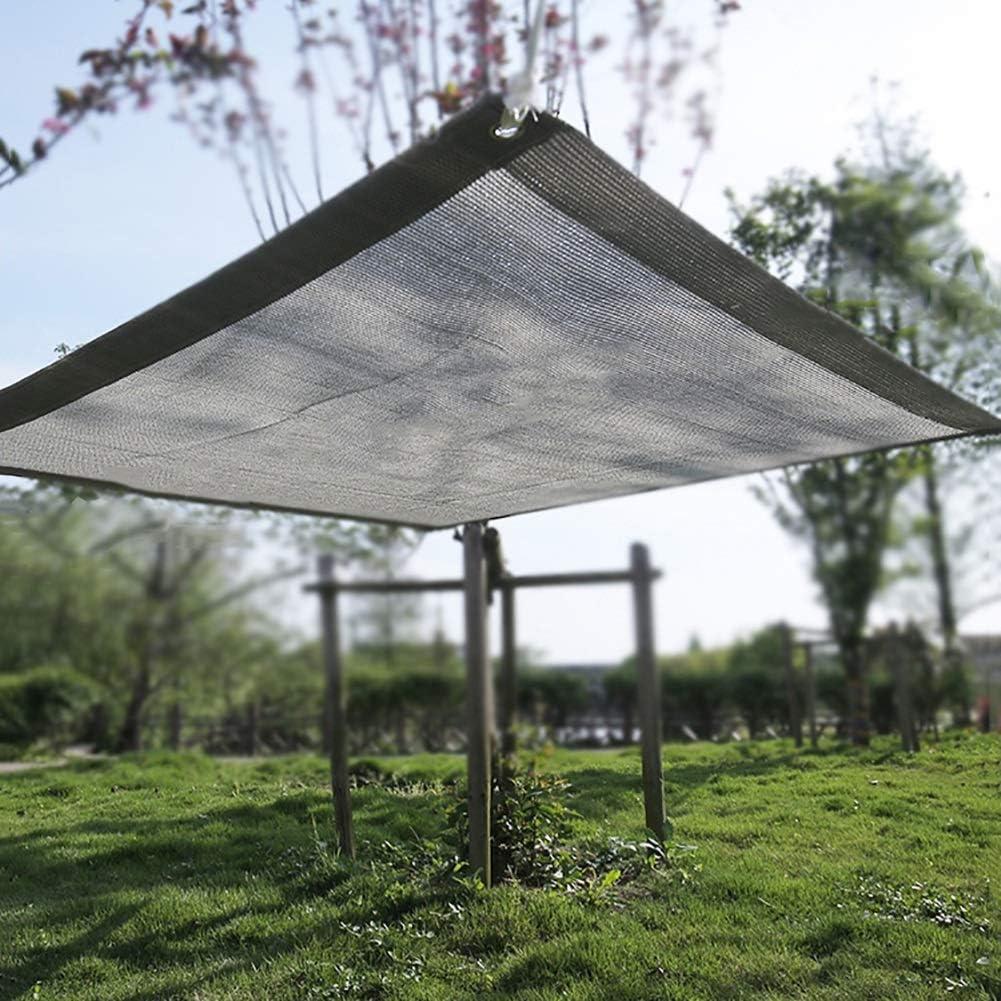 Gaojian Shade Shade Bloqueador Solar de Tela de Efecto Invernadero Neto UV Resistente Neto del 80/% de Sombra Tasa Cortina de la Red Cortavientos de Tela de Malla Tarp,2x2m