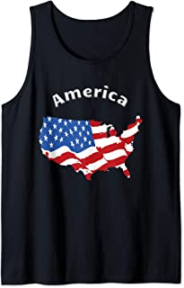 Best usa flag tank Reviews