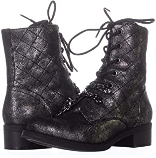 G by Guess Womens Meera2 Closed Toe Mid-Calf Combat Boots US