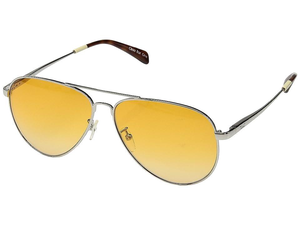 TOMS Maverick 301 (Shiny Gold) Fashion Sunglasses