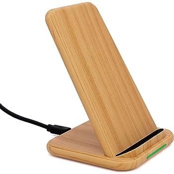 Veelink Bamboo Wireless Charger 10W Fast: : Elektronik