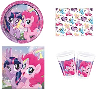 Amscan 8 MY LITTLE PONY Safety Blow Outs Blowout Pink Girls Party Bag Filler