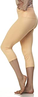Extra Soft Capri Leggings with High Yoga Wast - 20 Colors...