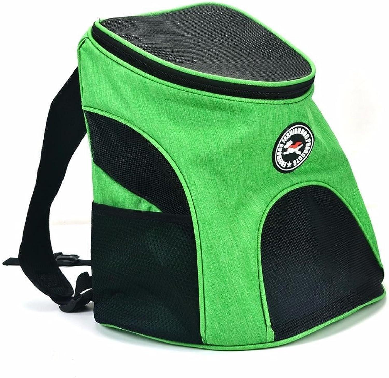 Kaxima Pet Carrier Backpack Travel double shoulder backpack breathable mesh bag