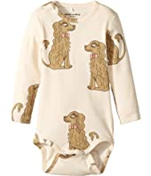 mini rodini - Spaniel Long Sleeve Bodysuit (Infant)