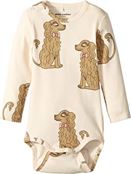 Spaniel Long Sleeve Bodysuit (Infant)