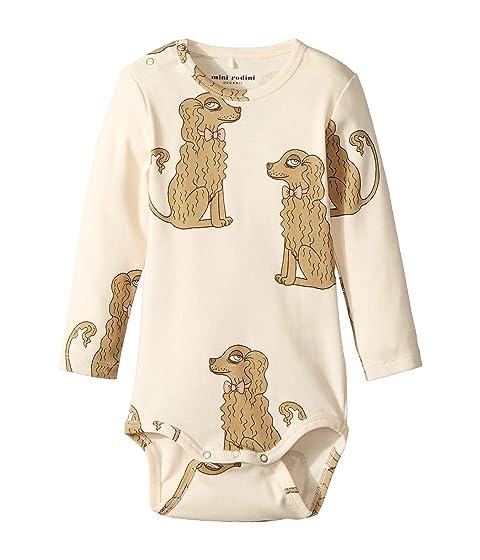mini rodini Spaniel Long Sleeve Bodysuit (Infant)
