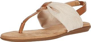 Aerosoles Women's Thong, Sandal Flat, TAN COMBO, 6.5