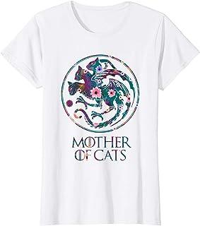 Mujer Madre de Gatos - Mother of Cats Camiseta