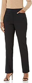 Briggs New York Women's Super Stretch Millennium Welt Pocket Pull on Career Pant