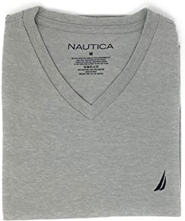 Nautica Men's Short Sleeve Solid Classic fit Fit V-Neck T-Shirt