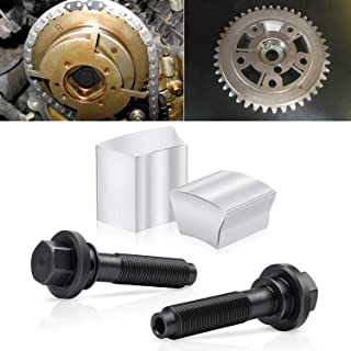 Cam Phaser Lock Out Kit and Camshaft Timing Mounting Bolt Eliminates Ticking Noise for Ford 5.4L 4.6L 3 Valve Engines