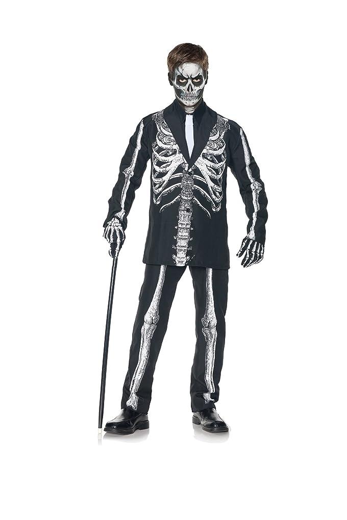 従順柔らかさ労苦骸骨 衣装、コスチューム 子供男性用 ハロウィン BONE DADDY CHILD■サイズ:L