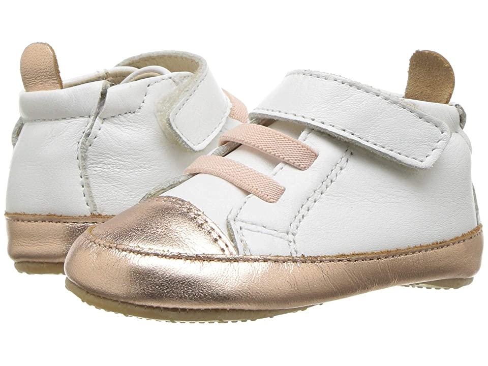 Old Soles High Ball (Infant/Toddler) (Snow/Copper) Boy