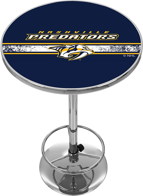Trademark Low price Gameroom NHL Nashville Table Pub Chrome Seasonal Wrap Introduction Predators
