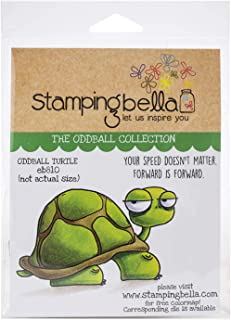 Stamping Bella EB810 Cling Stamps-Oddball Turtle