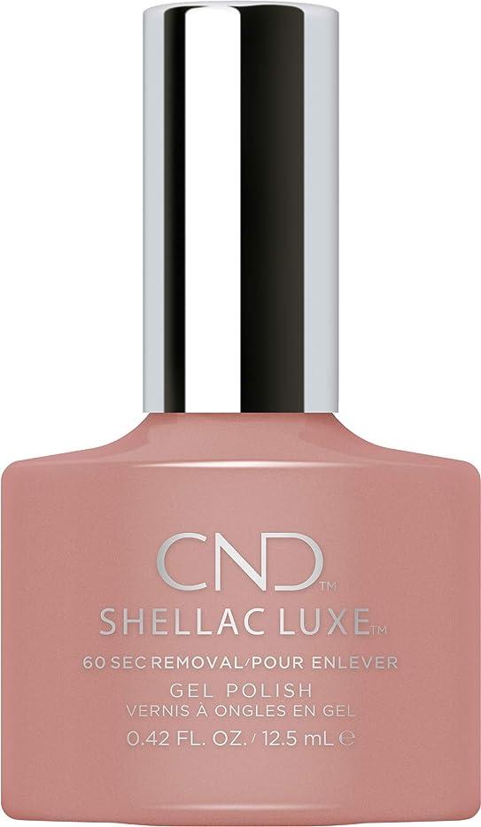 フェードアウトアウトドア専制CND Shellac Luxe - Satin Pajamas - 12.5 ml / 0.42 oz