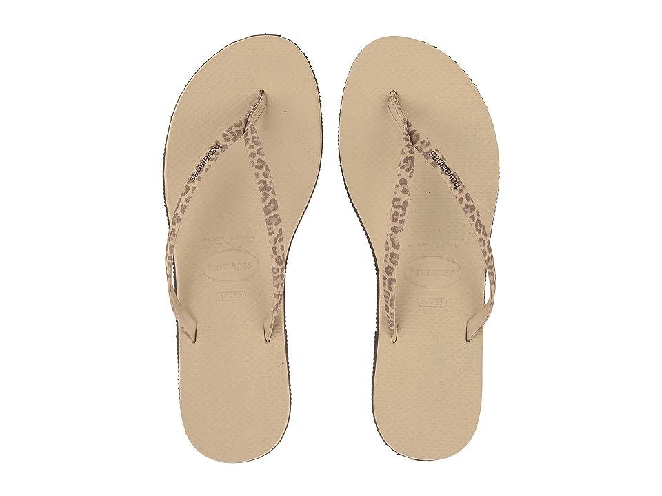 Havaianas You Animals Flip-Flops (Sand Grey) Women