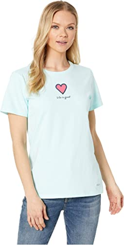 Vintage Crusher™ LIG Heart Tee