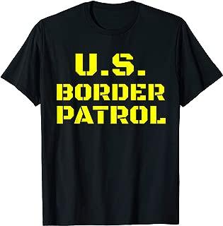 Halloween Border Patrol Immigration Enforcement Costumes T-Shirt