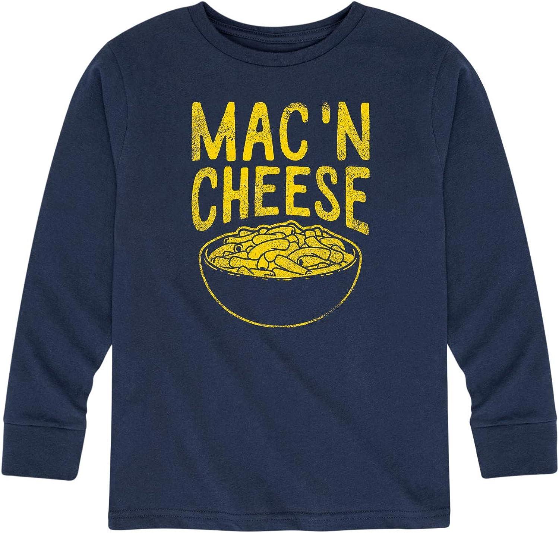 Mac and Cheese - Kids Long Sleeve Tee