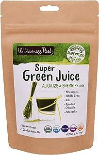 Wilderness Poets, Super Green Juice Powder (3.5 Ounce)