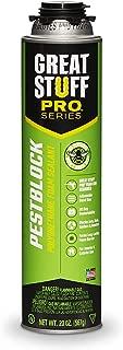 Great Stuff 11073754 Pro Pestblock Insulating Foam Sealant, 20 fl. oz.
