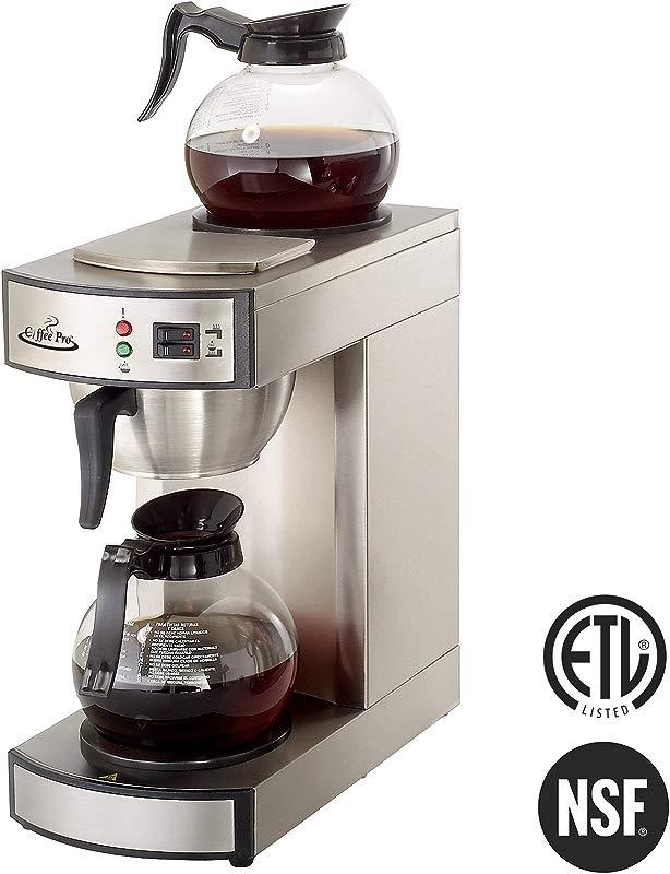 Coffee Pro CPRLG2 Twin Warmer Institutional Coffee Maker STST