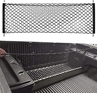 VCiiC Truck Envelope Style Trunk Rear Cargo Net for Nissan Frontier