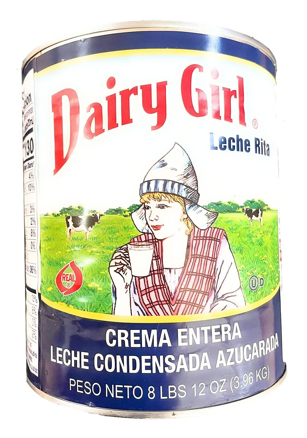 Dairy Girl Full Cream Sweetened Condensed Milk 8lbs12oz 140oz Popular standard Max 44% OFF