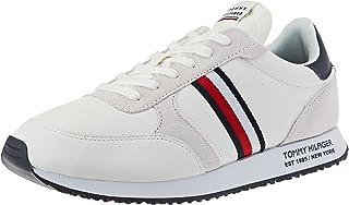 Tommy Hilfiger Herren Runner Lo Leather Sneaker