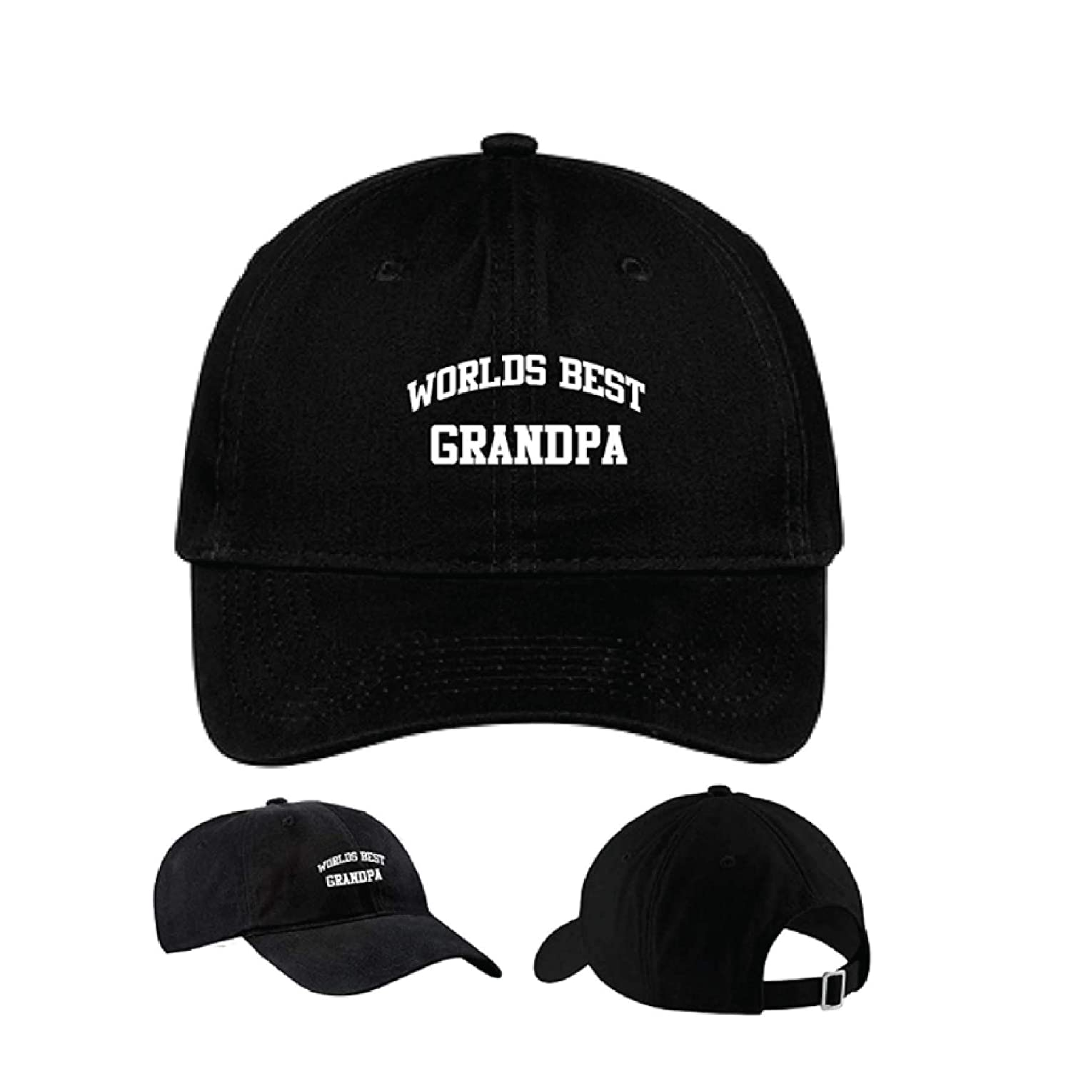 Embroidered Worlds Best Max 61% OFF Shipping included Grandpa Gr Hat Cap