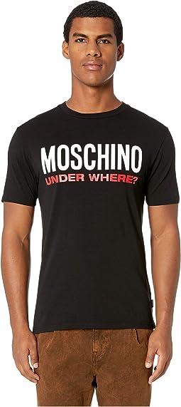 5b9d3e59fed71 Moschino jersey stretch moschino bear t shirt