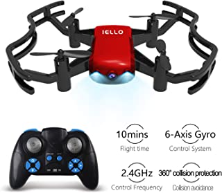 2.4G 6 axis RC Drone Headless Quadcopter Toys with Double Protection Guard Altitude Hold Easy for Beginner Drone Without Cameras