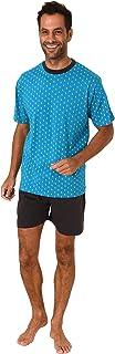 Elegant Men's Short Sleeve Pyjamas Shorty Pyjamas - 112 105 10 712