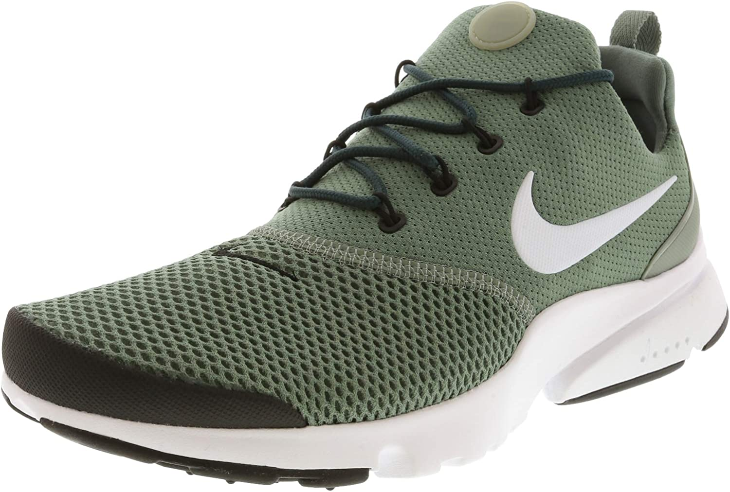 Nike Presto Fly Mens Running Trainers 908019 Sneakers shoes (UK 6 US 7 EU 40, Clay Green White Black 303)