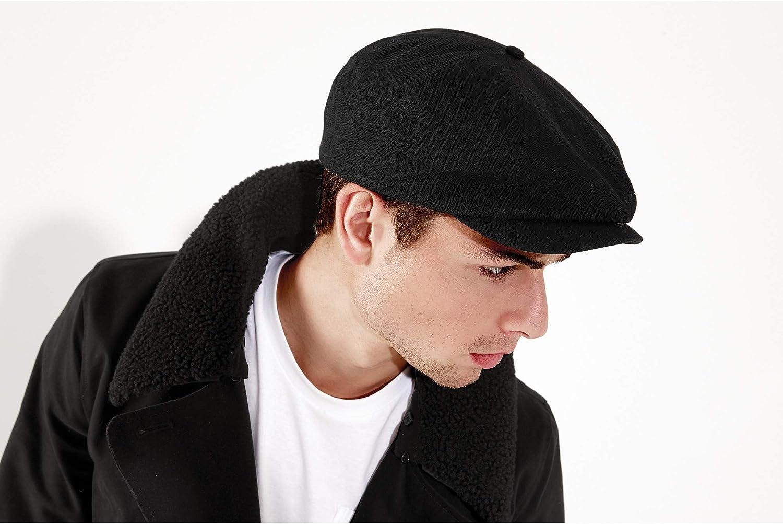 cl/ásica para hombre negro blanco L//XL Gorra Tom Franks
