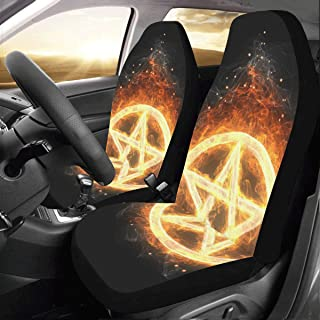 InterestPrint Car Seat Covers Auto Protection Car Seat Cushions