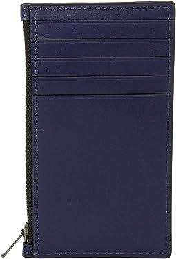Zip Card Case in Refined Calf