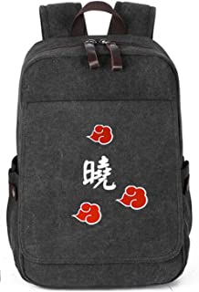 Gumstyle Naruto Vintage Canvas Book Bag Laptop Backpack Casual School Bag