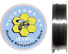 Kbee's 25 ft - 18 Gauge AWG Nichrome 80 Resistance Wire 25' Length