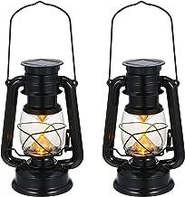 Lanterna de luz Lanterna cintilante movida a energia solar IPX4 resistente à água lâmpada suspensa ao ar livre para paisag...