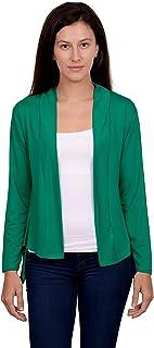 CETC NJ Women's Viscose Shrug - 10 Colours 5 Sizes