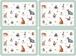 Pimpernel - Sets de Table - Wrendale - Boîte de 4