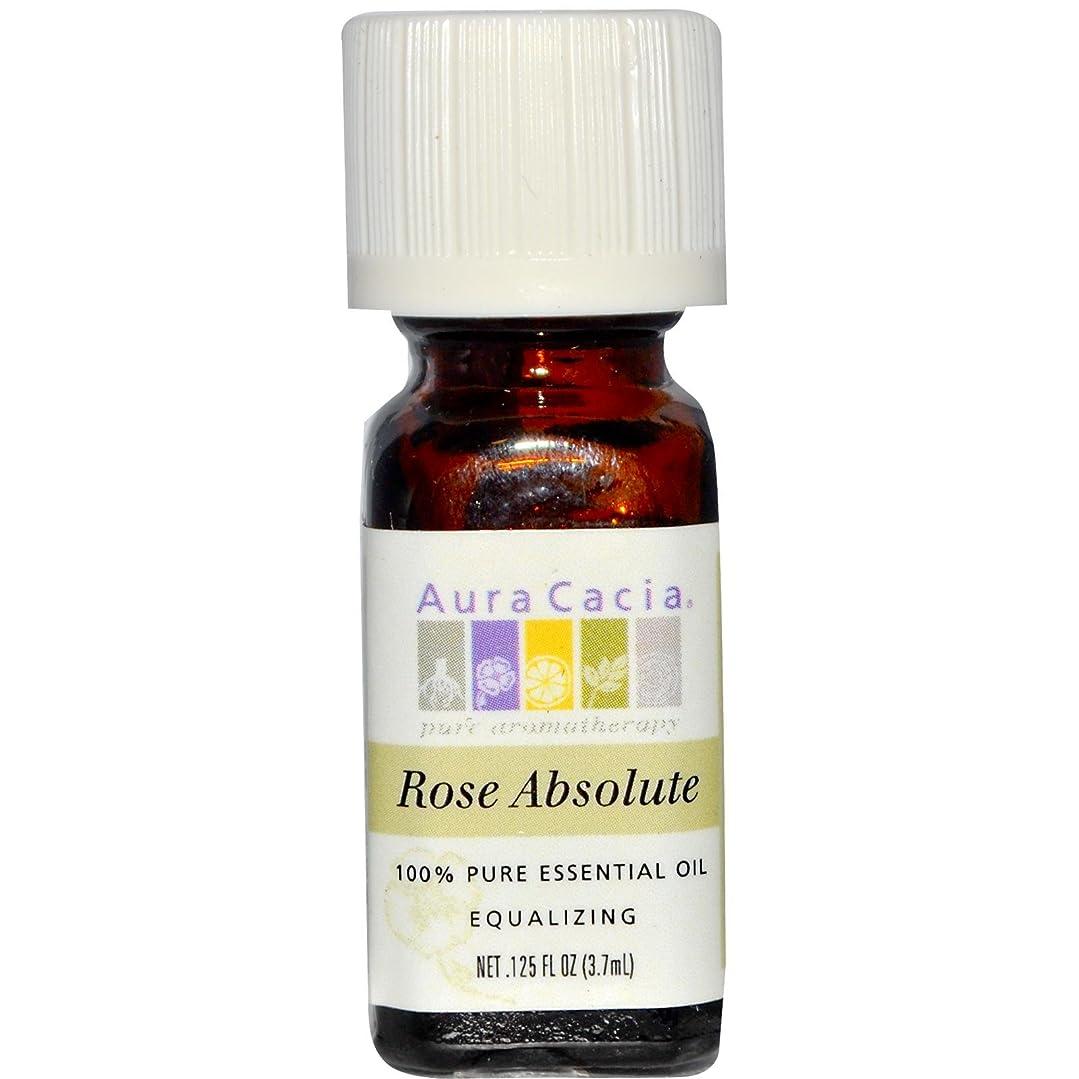 ぴったりミルクブレーキAura Cacia(オーラカシア)ローズ アブソルート Rose absolute 3.7ml[並行輸入品]