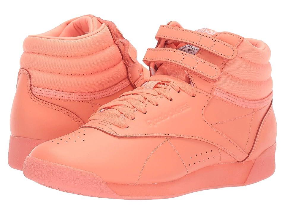 Reebok Lifestyle Freestyle Hi (Icons Stellar Pink/White) Women
