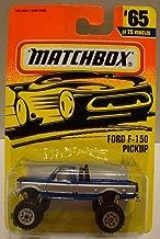 1996 Matchbox Ford F-150 Pickup Blue/Silver #65