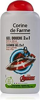 جل استحمام للشعر والجسم من كورين دي فرايم، 2 في 1 أفنجرز/سبايدر مان، 250 مل، متنوع